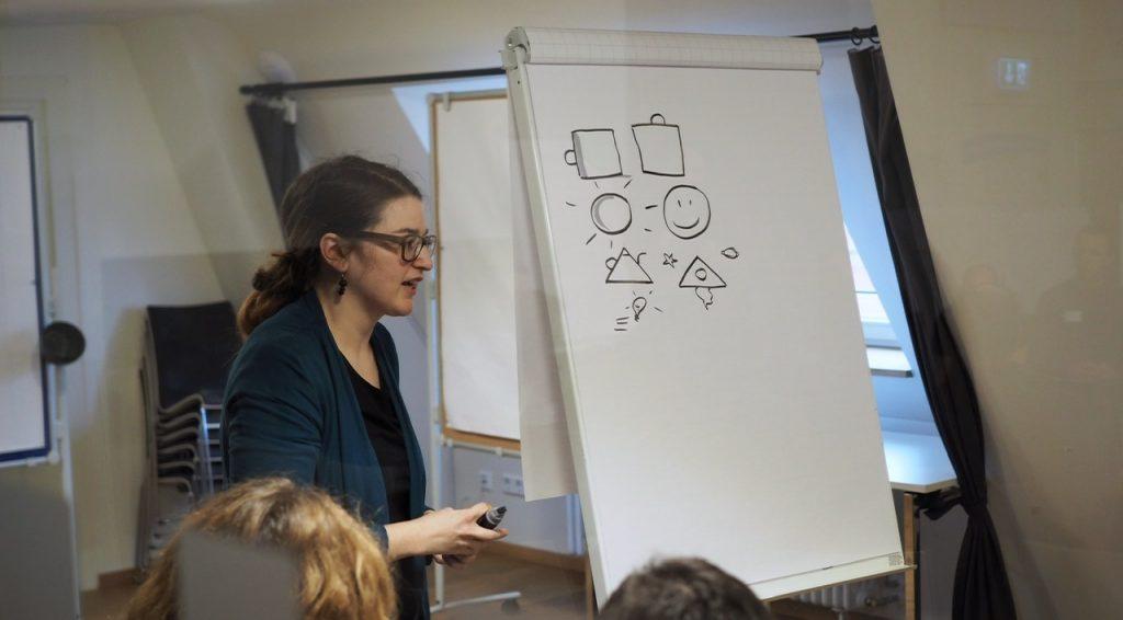 Workshops zu visuellen Themen mit dem kleinen Wahnsinn