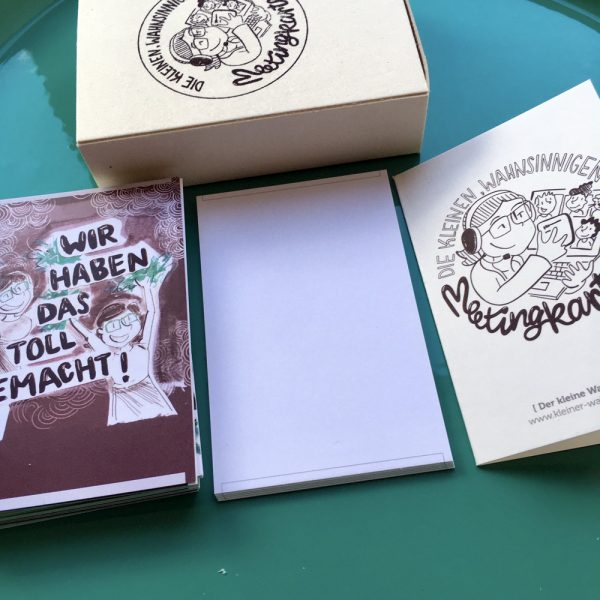 1 Booklet, 24 Motivkarten nd 5 Blankokarten
